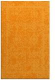 rug #1084026    light-orange damask rug