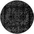 rug #1084043 | round damask rug