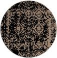 rug #1084046 | round beige faded rug
