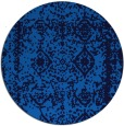 rug #1084066 | round blue faded rug