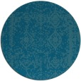 rug #1084108 | round faded rug