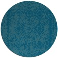 rug #1084109 | round faded rug