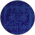 rug #1084139 | round damask rug
