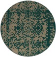 rug #1084153 | round faded rug