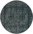 rug #1084166 | round green rug