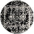 rug #1084179 | round faded rug