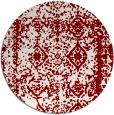 rug #1084245   round faded rug
