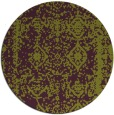 rug #1084274 | round purple traditional rug