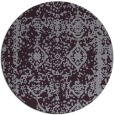 rug #1084282 | round purple faded rug