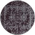 rug #1084282 | round purple damask rug