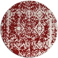 rug #1084296 | round faded rug
