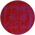 rug #1084298   round red damask rug