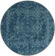 rug #1084344 | round faded rug
