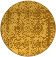 rug #1084362 | round light-orange faded rug