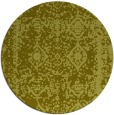rug #1084370 | round light-green graphic rug