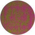 rug #1084378 | round pink traditional rug