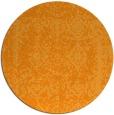 rug #1084394 | round light-orange faded rug