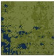 rug #1084814 | square green traditional rug