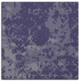 rug #1084862 | square blue-violet damask rug