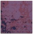 rug #1084870 | square blue-violet damask rug