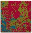 rug #1084894 | square blue-green damask rug