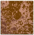 rug #1084918 | square brown faded rug
