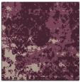 rug #1084934 | square pink damask rug
