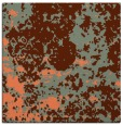 rug #1084986 | square red-orange faded rug