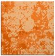 rug #1085042 | square red-orange faded rug
