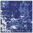 rug #1085066 | square blue faded rug