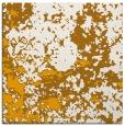 rug #1085122 | square light-orange damask rug
