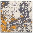 rug #1085134 | square light-orange damask rug
