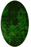 rug #1085200 | oval damask rug