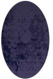 rug #1085226   oval blue-violet traditional rug