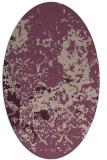 rug #1085305 | oval damask rug