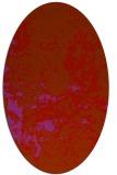 rug #1085405 | oval traditional rug