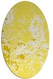 rug #1085433 | oval damask rug