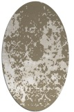 rug #1085450 | oval white traditional rug