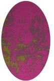 rug #1085482 | oval faded rug