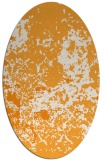 rug #1085498 | oval light-orange popular rug