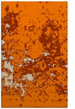 rug #1085506 |  orange damask rug