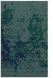 rug #1085546 |  blue-green faded rug