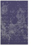 rug #1085598 |  blue-violet faded rug