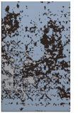 rug #1085618 |  blue-violet faded rug