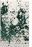 rug #1085642 |  blue-green faded rug