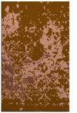rug #1085654 |  brown damask rug