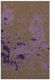 rug #1085750 |  purple traditional rug