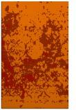 rug #1085762 |  orange damask rug
