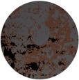 rug #1085882 | round black faded rug