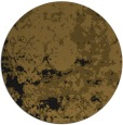 rug #1085894 | round mid-brown damask rug